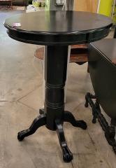 Black Pub Table