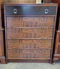 Tall Silver Buckle Dresser