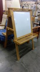 Whiteboard\/ChalkBoard Easel