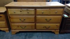 Oak 6 Chest of Drawers