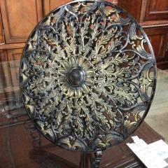 Decorative Metal Plate - HOUSEWARES