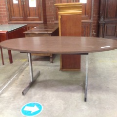 Oval Small Conference Table - OFFICE FURNITURE
