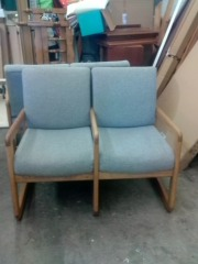 DOUBLE SEATED CHAIR