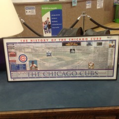 History of the Chicago Cubs - ARTWORK\/PRINTS FURNITURE