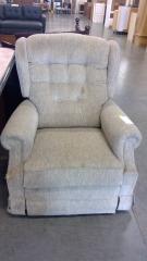 Beige Corduroy Design Chair