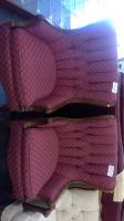 Burgundy Accent Chair