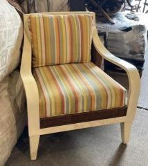 Rattan\/Wood Chair