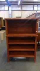 Burnt Orange Storage Shelf