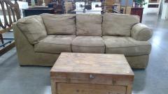 Tan Comfort Sofa