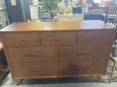 Acorn Williams 7 Drawer 56'' W Dresser