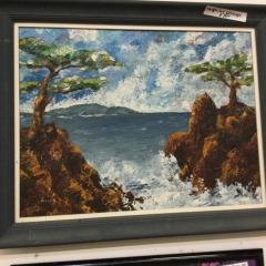 Hand painted Seascape - ARTWORK\/PRINTS FURNITURE