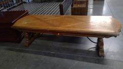 Oak Coffee Table Long
