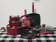T-fal Easy Care Nonstick Cookware 11pc Set