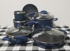 Anolon 11 Piece Hard-Anodized Aluminum Non Stick Advanced Cookware Set