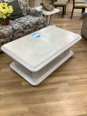 80'S STYLE WOOD COFFEE TABLE