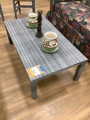 VINYL COFFEE TABLE