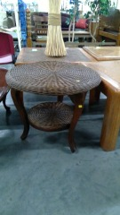 Wicker Circle Table