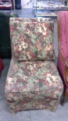 Sage & Floral Design Chair