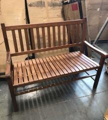New in Box Park Bench from Garden Treasures - HARDWARE
