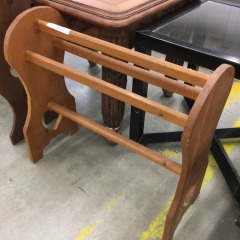 Pine Small Quilt Rack - GENTLY USED FURNITURE