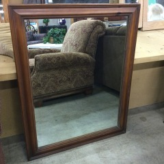Large Wall Mirror - GENTLY USED FURNITURE