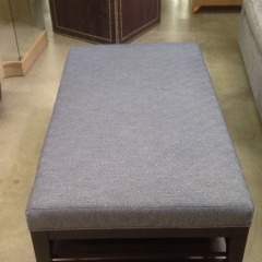 Willow Storage Ottoman (AS IS) - BETTER\/NEW FURNITURE