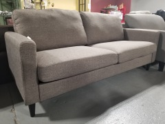 Gray Upholstered Couch