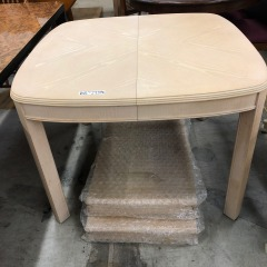 Blonde Dining Table with 2 Leaves - BETTER\/NEW FURNITURE