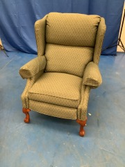GREEN WING BACK RECLINER
