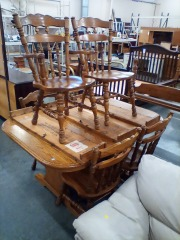 3 Leaf Table and Chairs