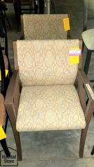 2 Davari Guest Chairs