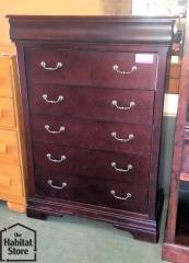 6 Drawer Tall Dresser