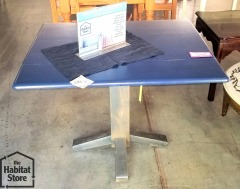 Blue Painted Drop Leaf table
