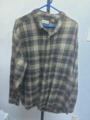Hobbs Creek Flannel Shirt- 2XL