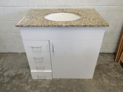GENTLY USED Bathroom Vanity 34 1\/2\