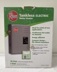 NEW Rheem Tankless Water Heater