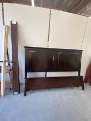 GENTLY USED King Bed Frame